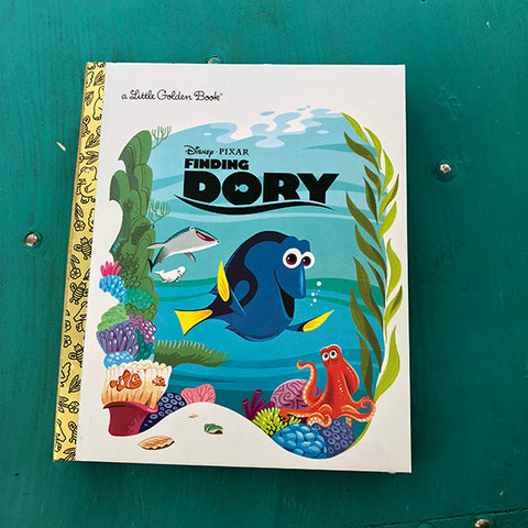Finding Dory-Golden Book Journal READY TO SHIP