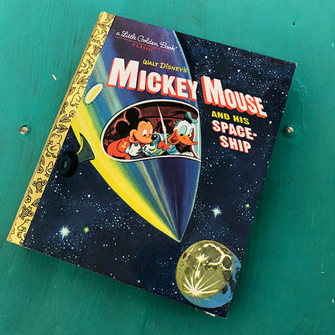 Mickey and The Spaceship-Golden Book Journal READY TO SHIP