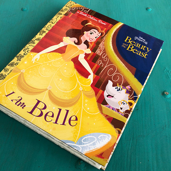 I am Belle-Golden Book Journal READY TO SHIP