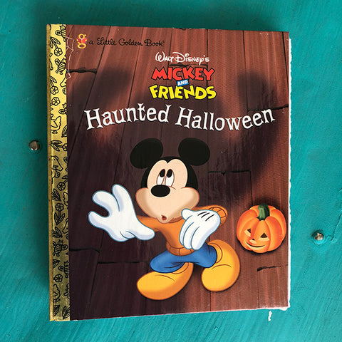 [Halloween] Mickey Haunted Halloween -Golden Book Journal READY TO SHIP
