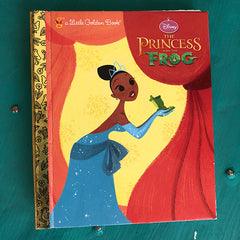 Princess and the Frog Tiana -Golden Book Journal READY TO SHIP