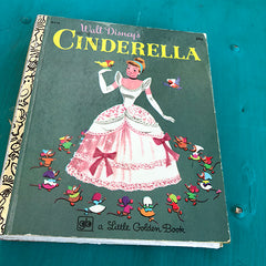 Cinderella {Vintage}-Golden Book Journal READY TO SHIP