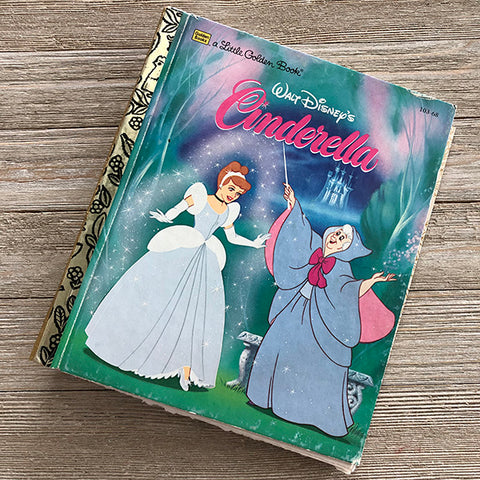 Cinderella-Golden Book Journal READY TO SHIP