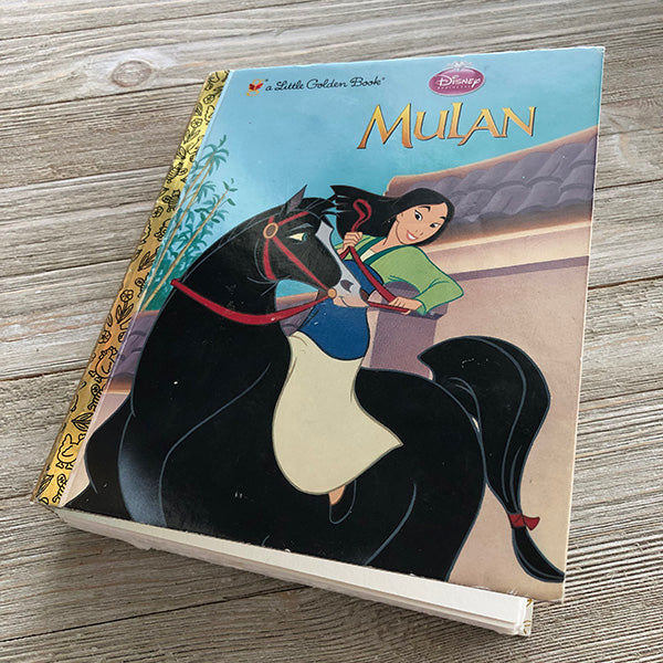 Mulan Journal 19-Golden Book Journal READY TO SHIP