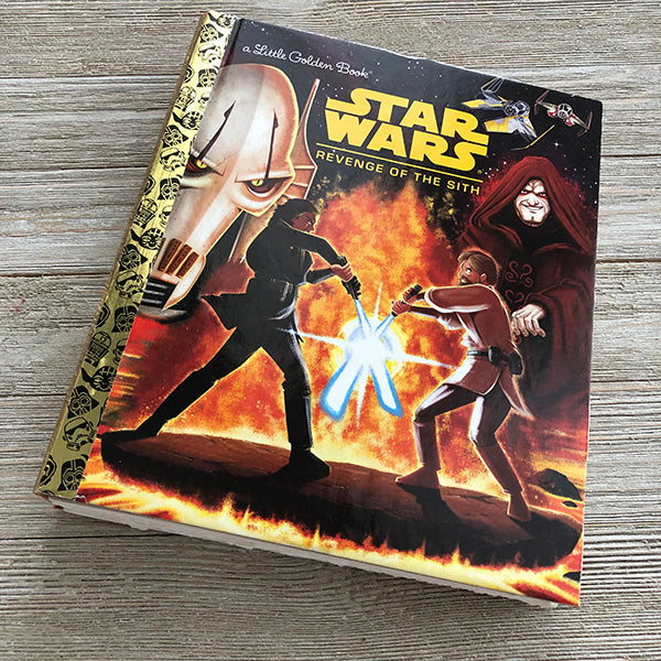 Star Wars-Revenge of the Sith-Golden Book Journal READY TO SHIP