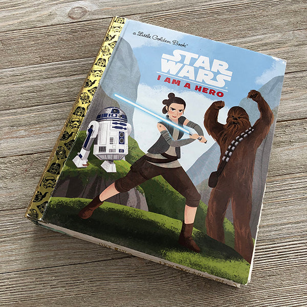 Star Wars-I am a Hero-Golden Book Journal READY TO SHIP