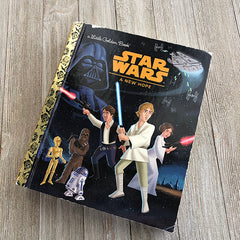 Star Wars: A New Hope -Golden Book Journal READY TO SHIP