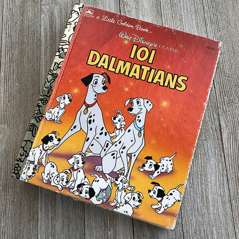101 Dalmatians-Golden Book Journal READY TO SHIP