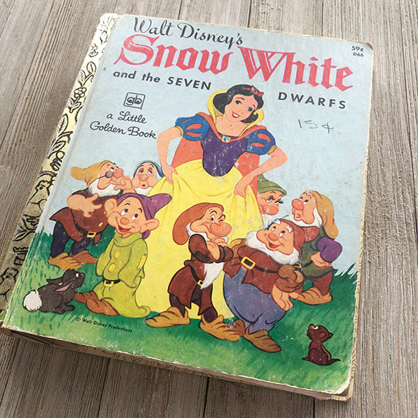 [Vintage] Snow White No. 55-Golden Book Journal READY TO SHIP
