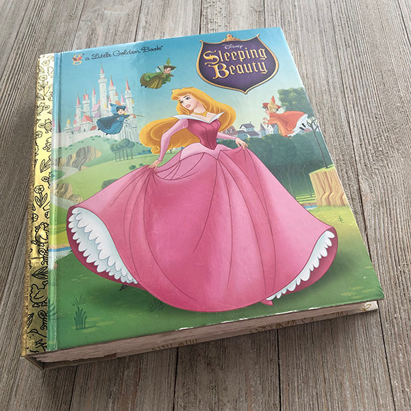 Sleeping Beauty No. 72-Golden Book Journal READY TO SHIP