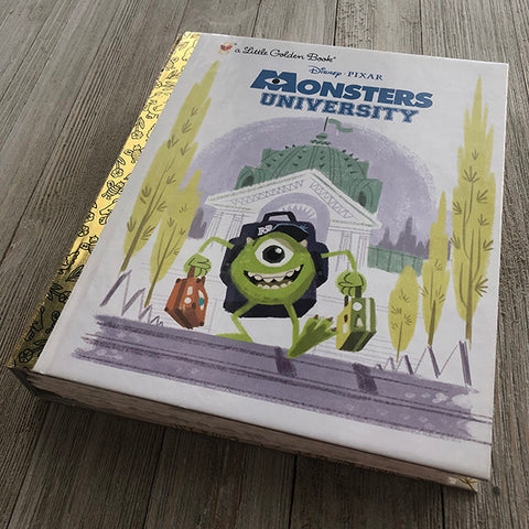 Monsters University -Golden Book Journal READY TO SHIP