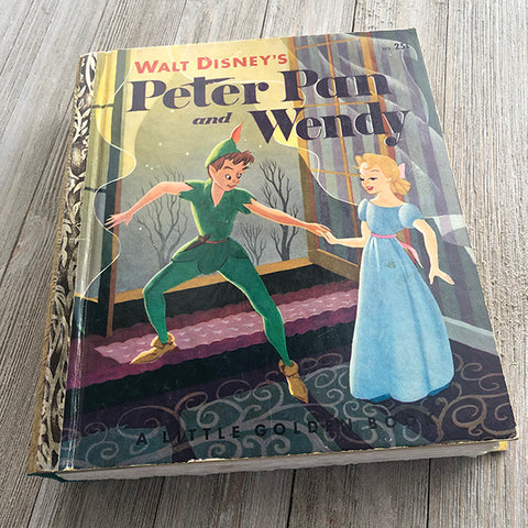 [Vintage] Peter Pan & Wendy No. 33-Golden Book Journal READY TO SHIP
