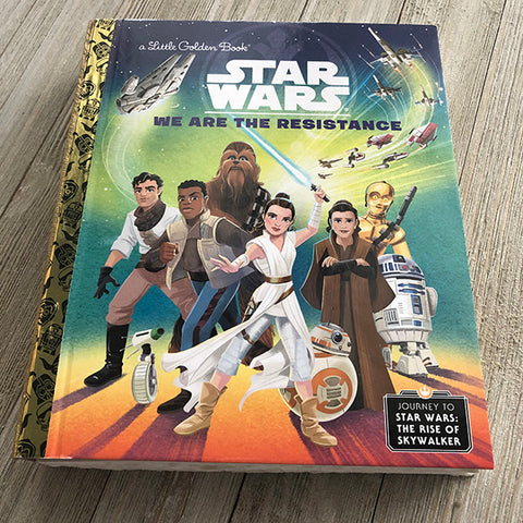 Star Wars Rise of the Resistance-Golden Book Journal READY TO SHIP