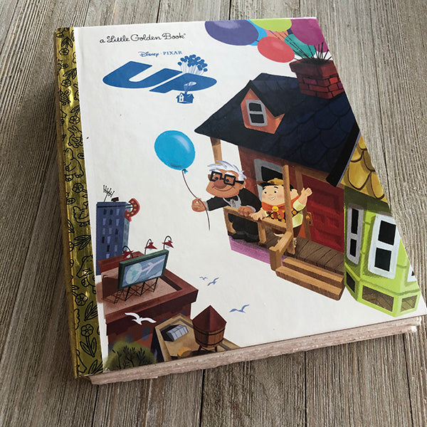 Up-Golden Book Journal READY TO SHIP