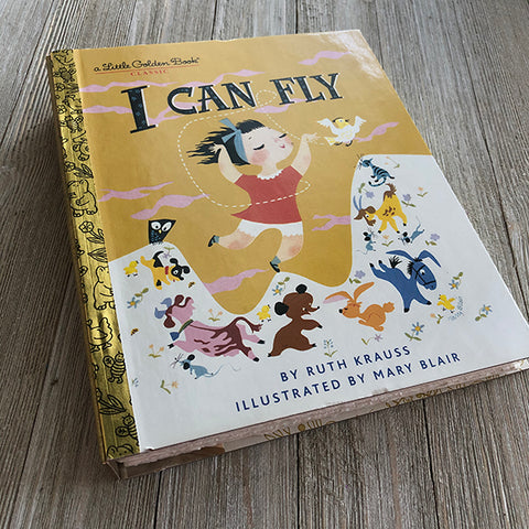 I Can Fly [Mary Blair] -Golden Book Journal READY TO SHIP