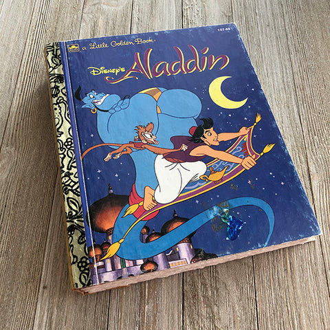 Aladdin-Golden Book Journal READY TO SHIP