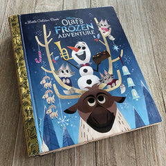 Olaf's Frozen Adventure-Golden Book Journal READY TO SHIP