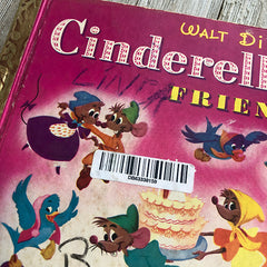 Cinderella & Friends [Rare Vintage]-Golden Book Journal READY TO SHIP