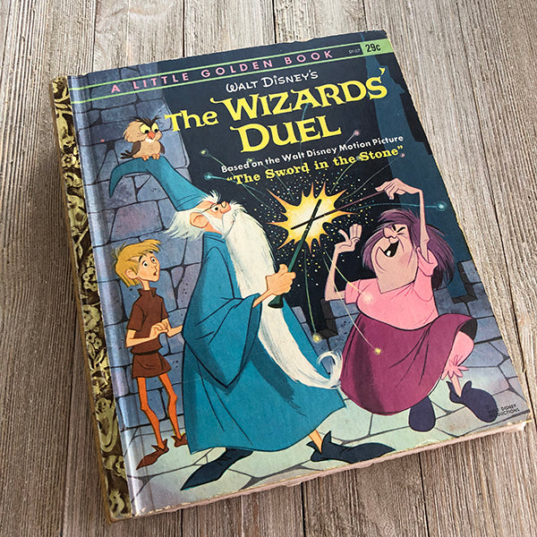 The Wizard's Duel [Rare Vintage]-Golden Book Journal READY TO SHIP