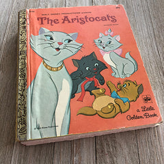 The Aristocats [Ultra Rare]-Golden Book Journal READY TO SHIP