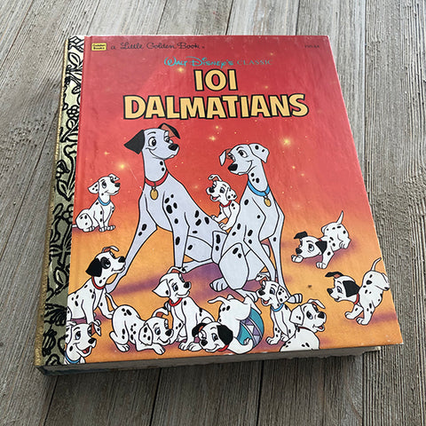 101 Dalmations-Golden Book Journal READY TO SHIP