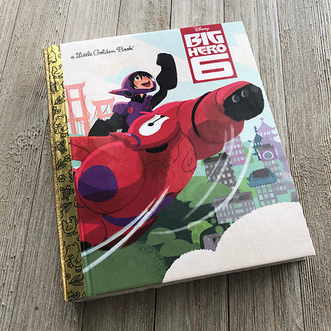 Big Hero 6-Golden Book Journal READY TO SHIP