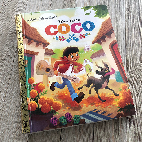 Coco-Golden Book Journal READY TO SHIP