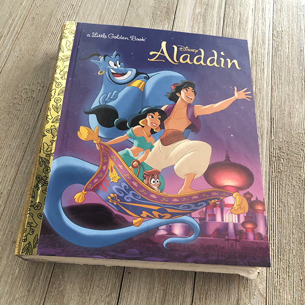 Aladdin (New 2020 Cover) -Golden Book Journal READY TO SHIP