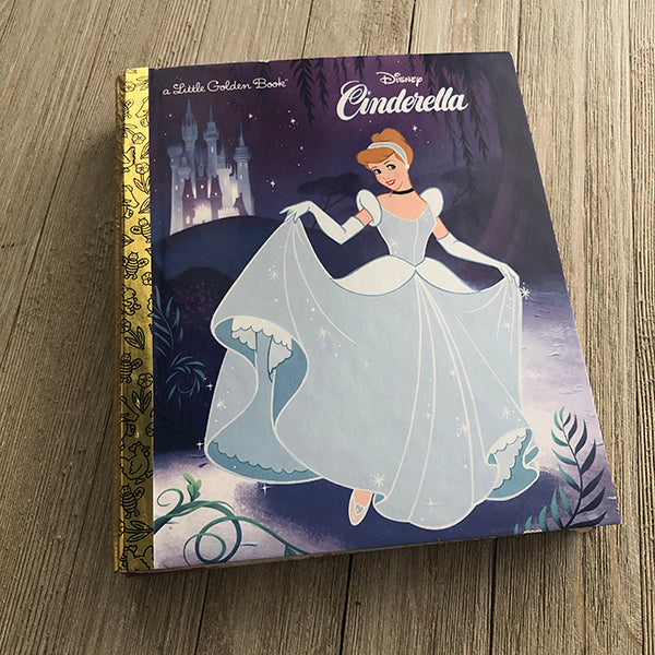 Cinderella (New 2020 Cover)-Golden Book Journal READY TO SHIP