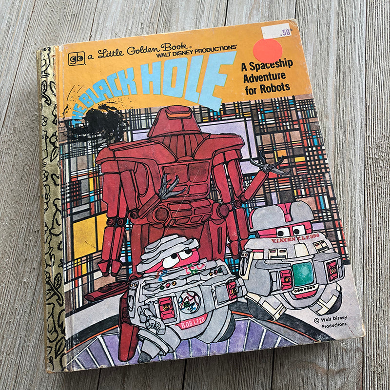 The Black Hole [Rare]-Golden Book Journal READY TO SHIP