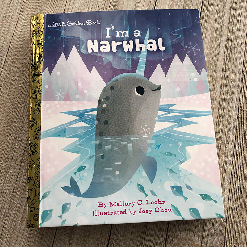 Joey Chou: I am a Narwhal-Golden Book Journal READY TO SHIP