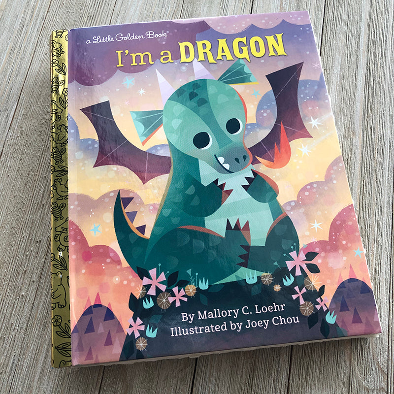 Joey Chou: I am a Dragon-Golden Book Journal READY TO SHIP