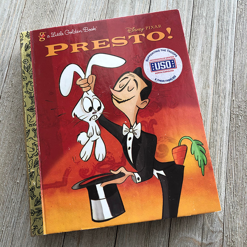Presto by Pixar-Golden Book Journal READY TO SHIP