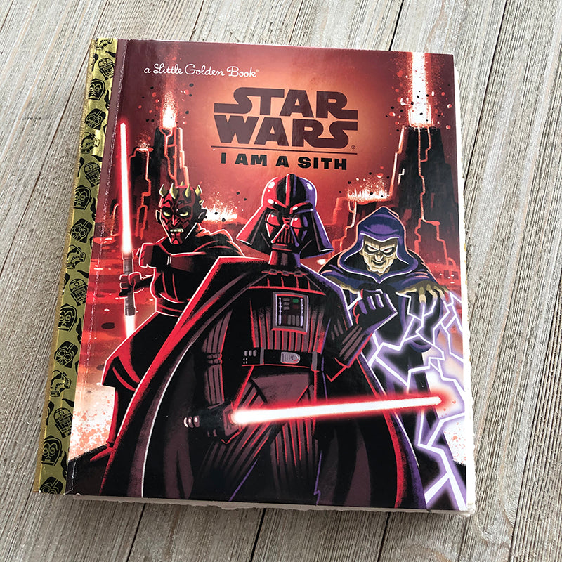 Star Wars-I am a Sith-Golden Book Journal READY TO SHIP