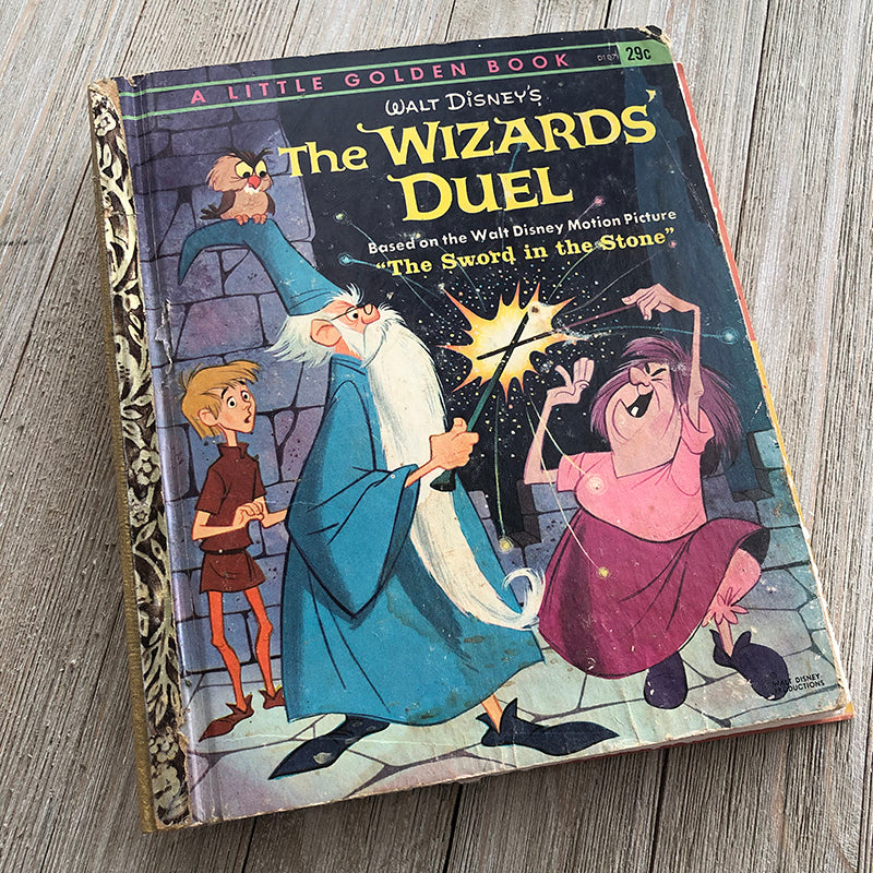 Wizard's Duel-Golden Book Journal READY TO SHIP