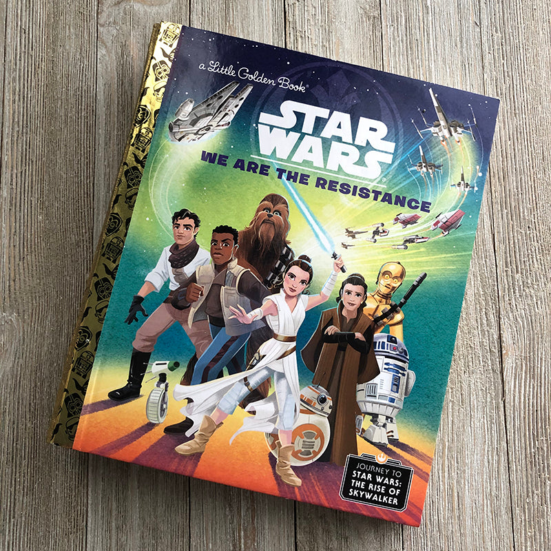 Star Wars: We Are The Resistance-Golden Book Journal READY TO SHIP