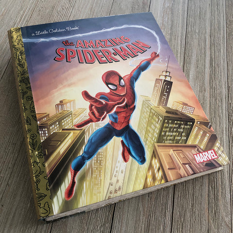 Amazing Spiderman-Golden Book Journal READY TO SHIP