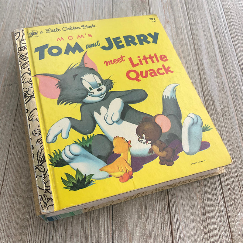 MGM Tom and Jerry Vintage Rare-Golden Book Journal READY TO SHIP