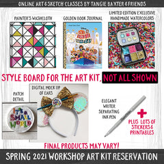 Art Journaling the Magic LIVE! Spring 2021 [Deluxe Art Kit] ♥SOLD OUT♥