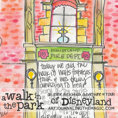 A Walk in the Park Online Sketchbook Adventure & Tour {Self-Study}