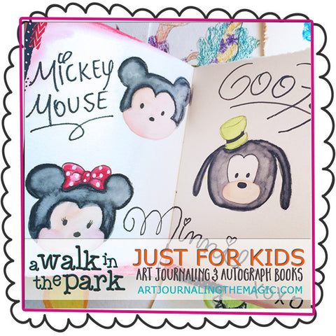 [Just for Kids Art Journaling & Autograph Books] Sketchbook  Class
