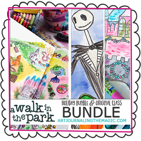 [Ultimate Bundle] A Walk in the Park Online Sketchbook Adventure & Tour
