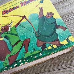 Robin Hood (Extremely Rare Vintage) -Golden Book Journal READY TO SHIP