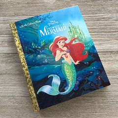 Little Mermaid Golden Book Journal READY TO SHIP