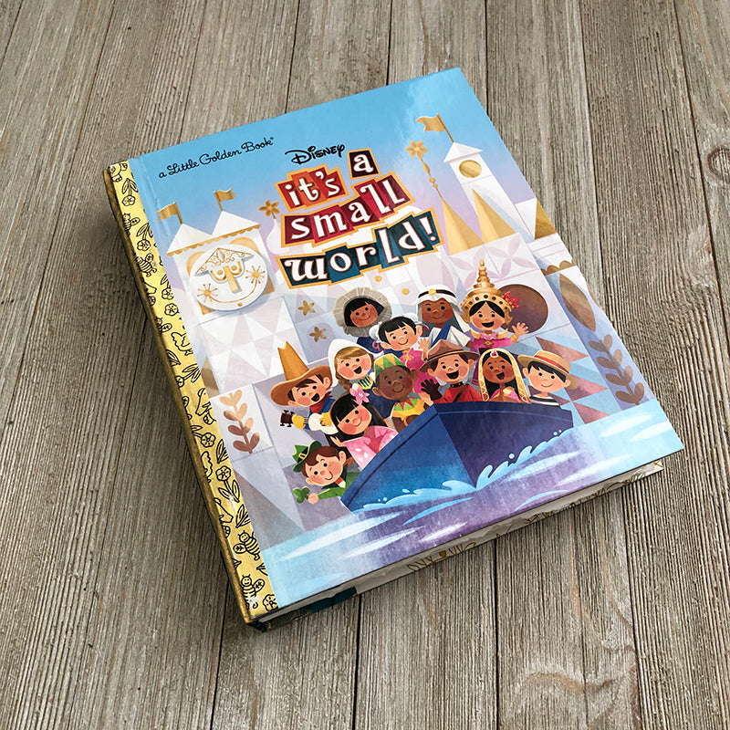 It's a Small World -Golden Book Journal READY TO SHIP