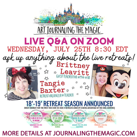 Live Q & A with Tangie & Brittney-July 25th [RECORDING NOW AVAILABLE]