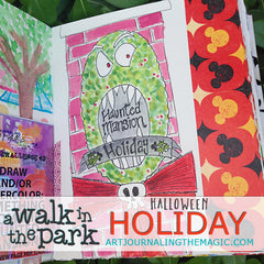 [Holiday Bundle] A Walk in the Park Online Sketchbook Adventure & Tour
