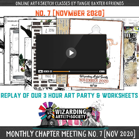 W.A.S Chapter Meeting No. 7 [November 2020]