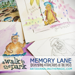 [Memory Lane, Attractions of the Past] Sketchbook Class {Self-Study}