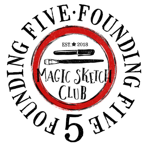 Magic Sketch Club™ Founding Five [Only 1 Available]